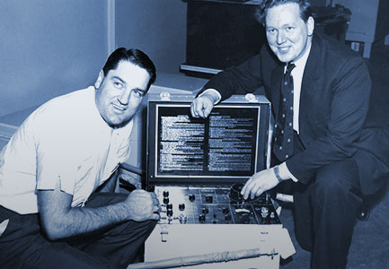 George Howell Showing Off Jetcal Analyzer