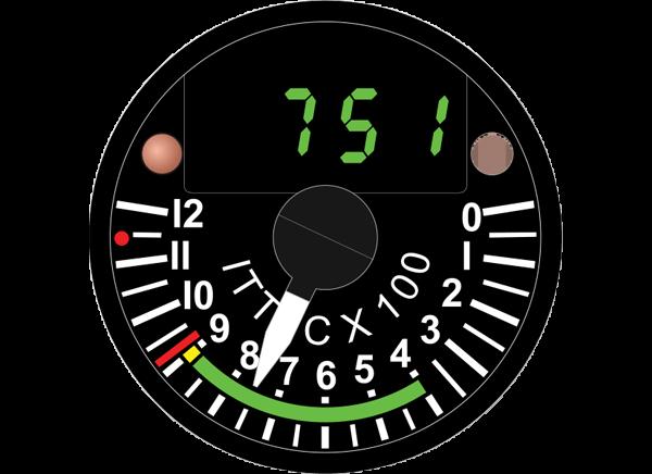 H1850R SERIES AUTOTEMP®1 INDICATORS